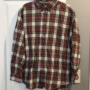 Davis Taylor Large Flannel Shirt